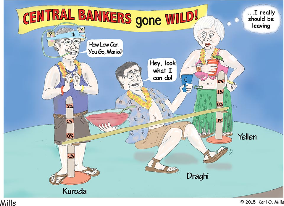 Central Bankers Gone Wild