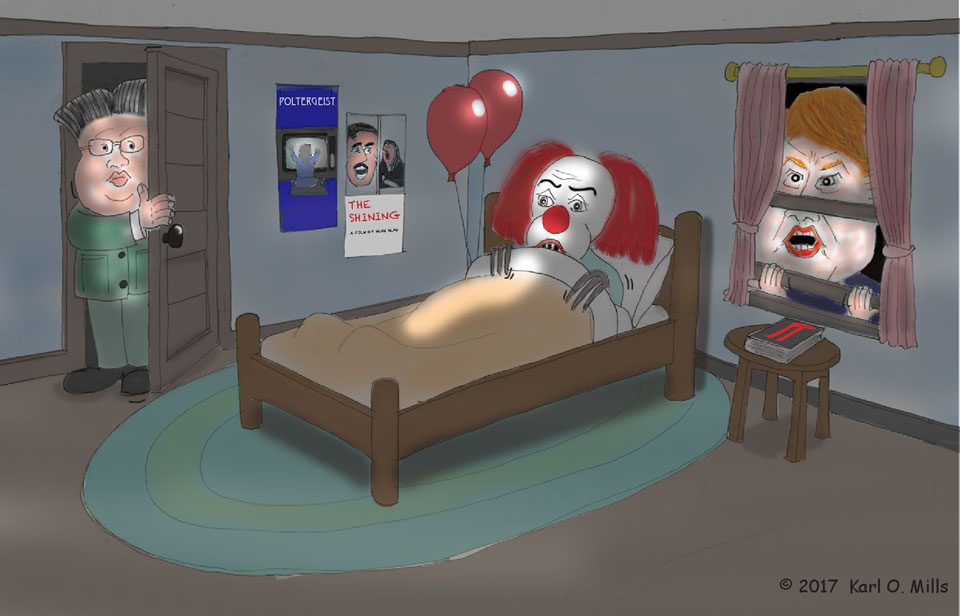What Scares a Clown